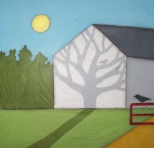 barn shadow