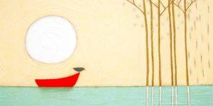 bird on boat